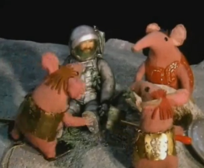 Image result for The Clangers The Visitor