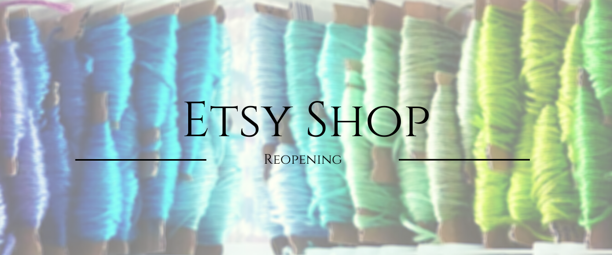 Etsy Shop Reopening