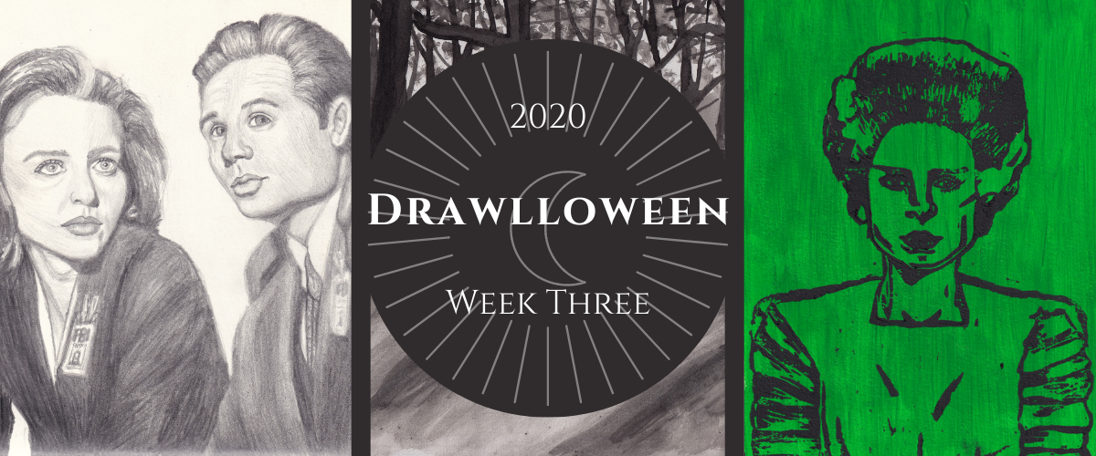Drawlloween 2020 Week Three