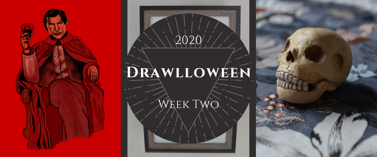 Drawlloween 2020 Week Two