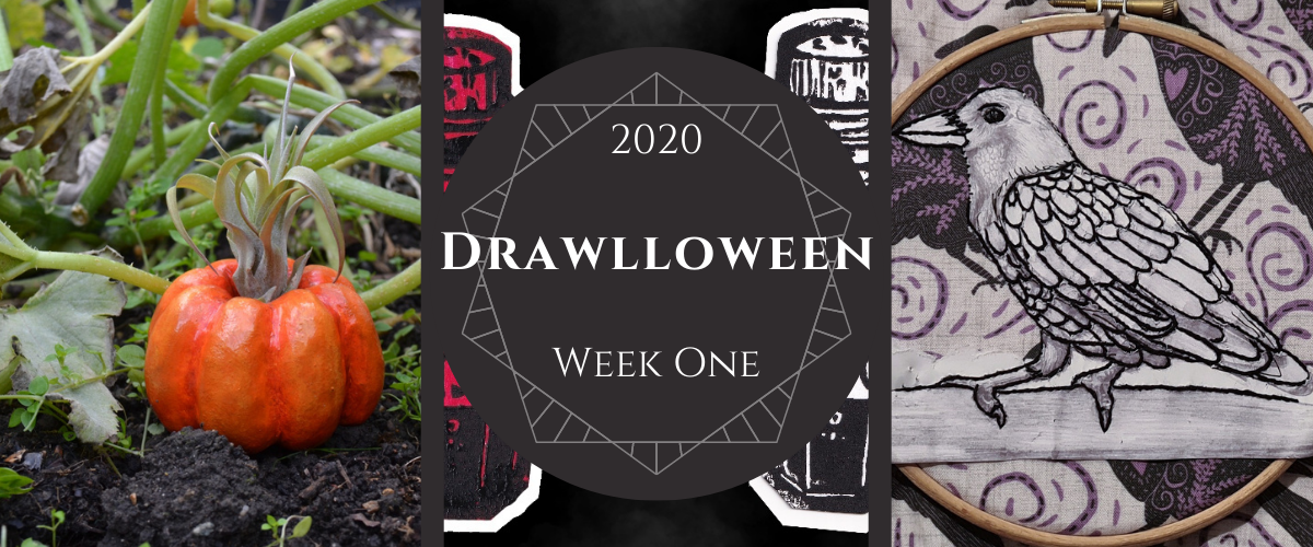 Drawlloween 2020 Week One
